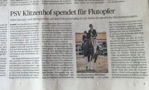 Zeitung Klitzenhof